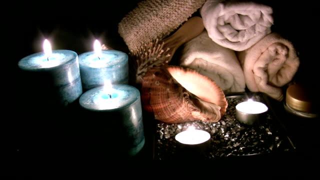 vídeos y material grabado en eventos de stock de la relajación y el bienestar fondo - tratamiento de spa