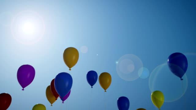Releasing Balloons video