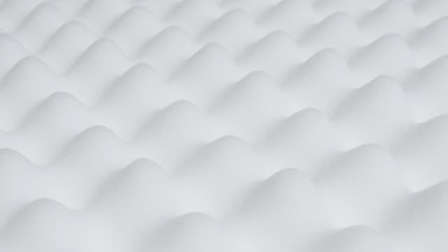 relief of memory foam modern peak and valley mattress slow tilt 4k 2160p 30fps ultrahd video - orthopedic exaggerated high-tech design silicone foam mattress texture tilting 4k 3840x2160 uhd footage - poliuretano polimero video stock e b–roll