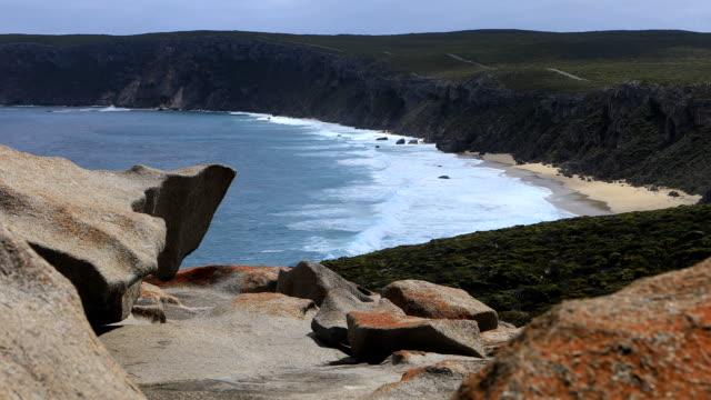 Remarkable Rocks formation on Kangaroo Island, Australia