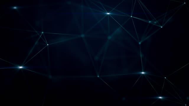 vídeos y material grabado en eventos de stock de 3d render formas abstractas del plexo - plexo
