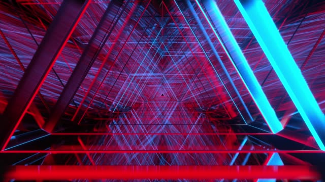 3d render animation abstract background, to show loop view going to triangle background, technology concept. creative design many line texture is moving abstract pattern fashionable background. - vivid 4k video stock videos & royalty-free footage