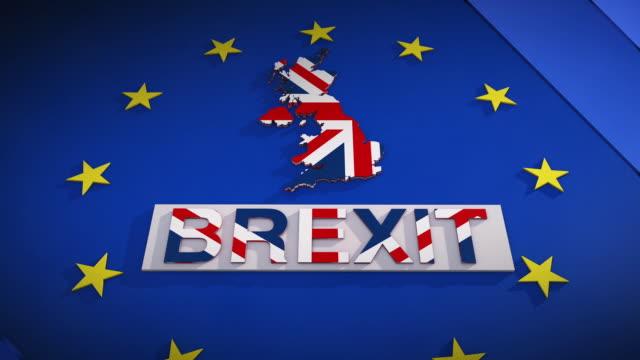 brexit 3d-rendering - brexit bildbanksvideor och videomaterial från bakom kulisserna