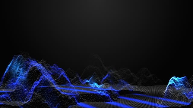 3D Rendering Abstract Wireframe of Mountain with Scanning Wave, Technology Concept 3D Rendering Abstract Wireframe of Mountain with Scanning Wave, Technology Concept. pulse trace stock videos & royalty-free footage