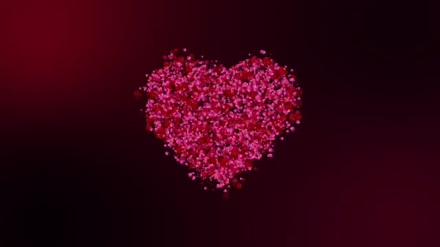 3D rendering, Animation of Valentines day, mother's day festive and luxury heart . Rose petals particles form heart shape. Dark red pink and green screen background. 3D rendering, Animation of Valentines day, mother's day festive and luxury heart . Rose petals particles form heart shape. Dark red pink and green screen background. mothers day stock videos & royalty-free footage
