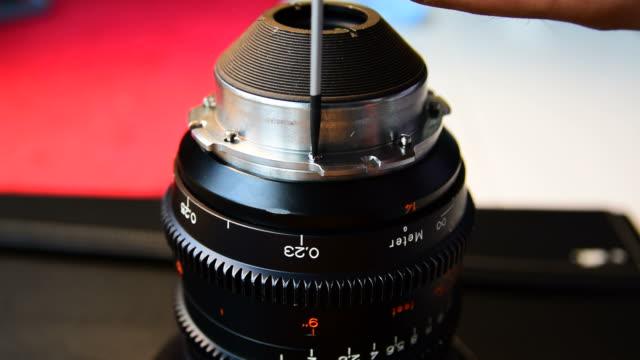 Repair lens camera.