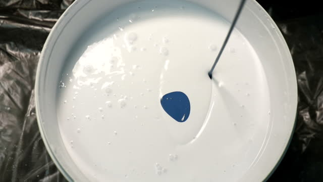 Repair of houses, with their own hands. Tinting a white paint using the color scheme video
