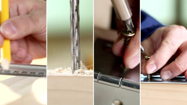 Repair. Video Wall. video