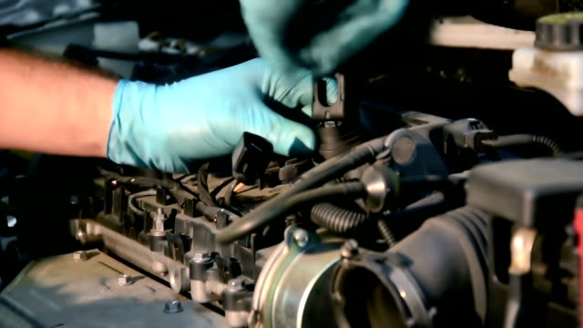 repairing an engine video