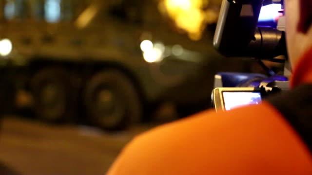 レポーターフィルム戦う機器 ビデオ