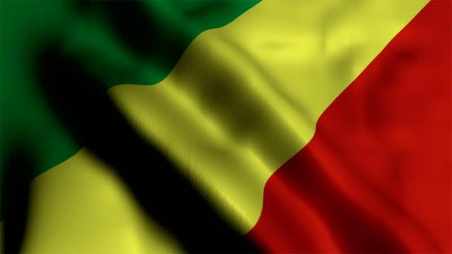 Republic of the Congo Flag video