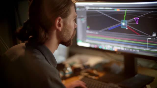 3d研究 - クリエイティブな職業点の映像素材/bロール