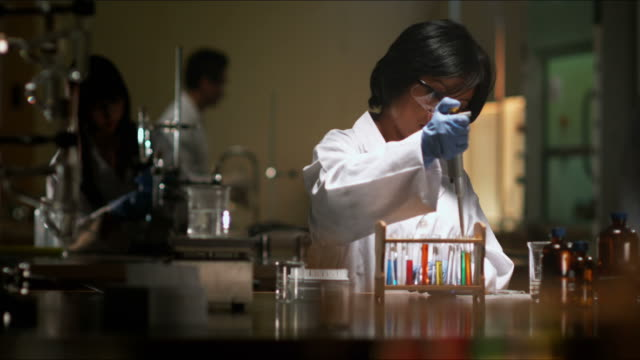 Researcher in Lab video