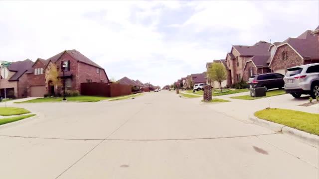 Residential estate street video