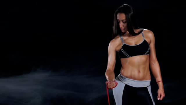 Resistance band workout video