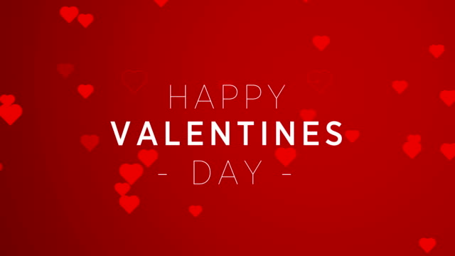 4K Resolution, Hearts - valentine's concept