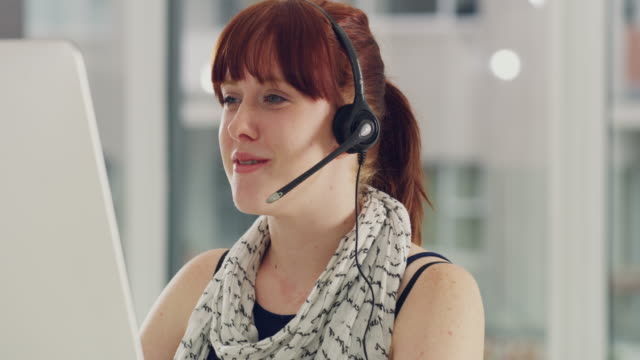 resolving customer inquiries quickly and efficiently - call centre stock videos & royalty-free footage