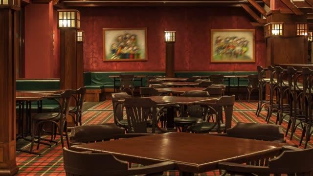 resort otel barında iç - bar i̇çkili mekan stok videoları ve detay görüntü çekimi