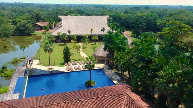 resort a villavicencio, colombia - guerrero video stock e b–roll