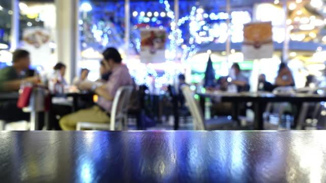 restaurant Abendessen Zeitraffer – Video