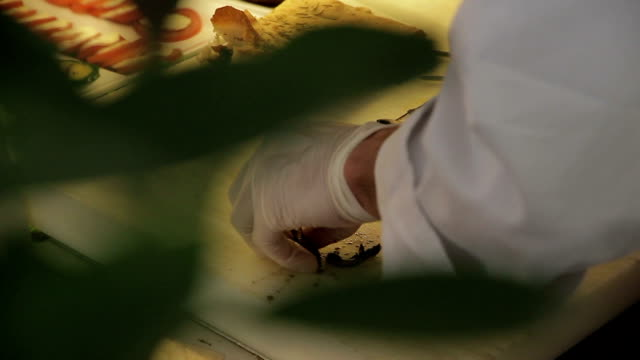 restaurant food video