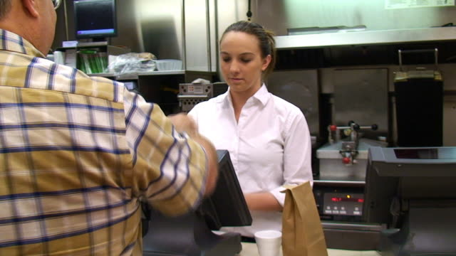 Restaurant Food Worker video
