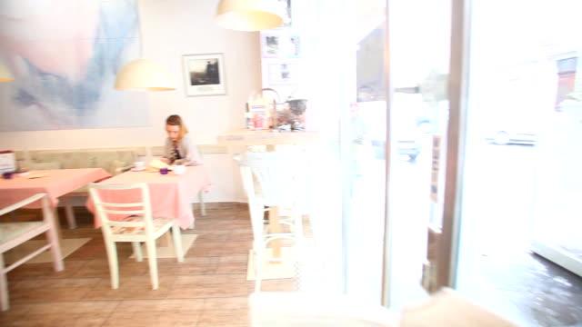Restaurant interior video