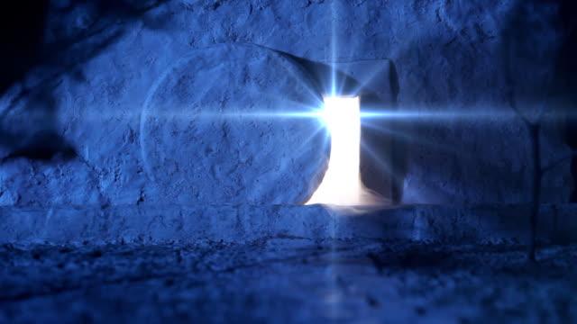 vídeos de stock e filmes b-roll de ressurreição domingo - cristo redentor