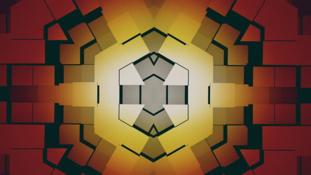 retro 3d animated background that loops - art deco architecture stock videos & royalty-free footage