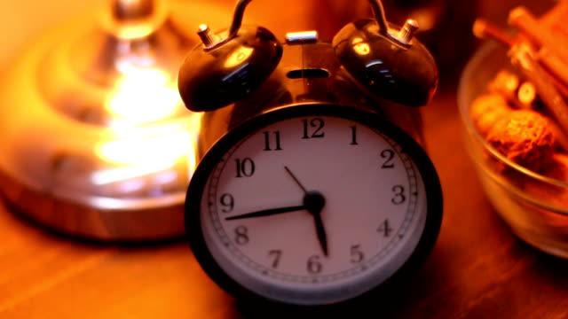 Retro alarm clock,vintage style