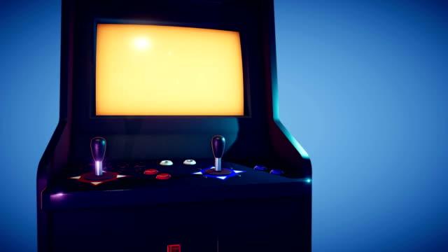 Retro Arcade Machine 4K video