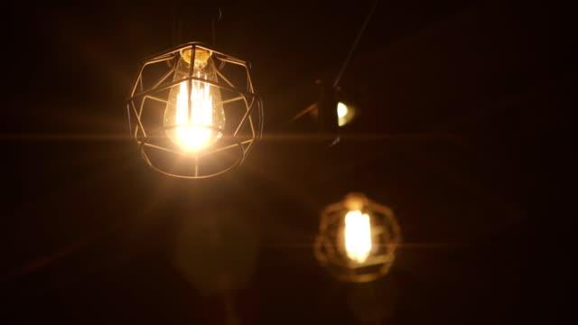 Retro Bulb Lighting 02 video