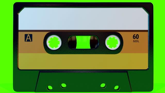 retro della cassetta - cassetta video stock e b–roll
