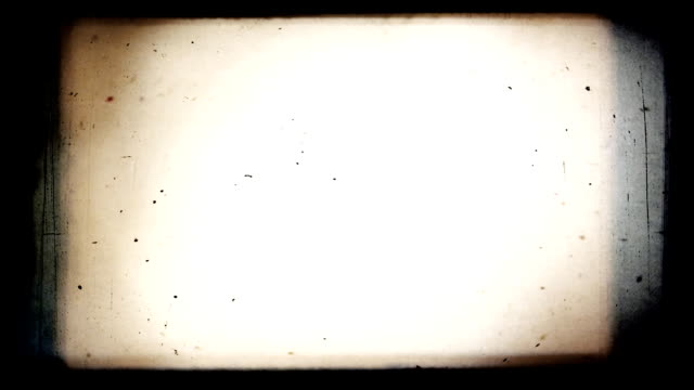 Retro Film Blinking Frame. video