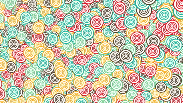 Retro Ring pattern video