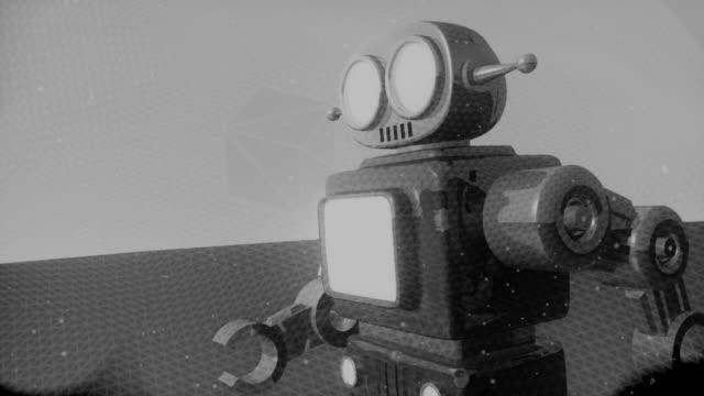 レトロなロボット HD 720 (オリジナル) ビデオ