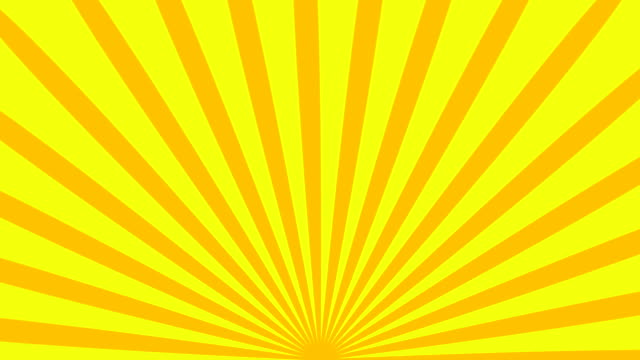 Retro striped sunburst background with grunge effect, computer generated backdrop, 3D render