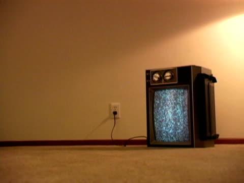 Retro Television & Static video