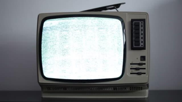 Retro television video