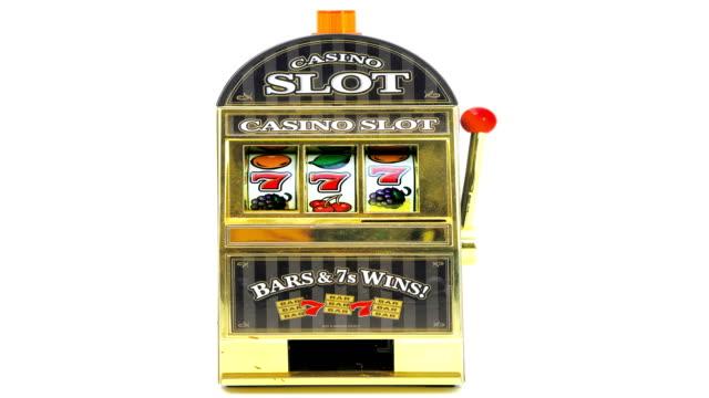 retro toy slot machine