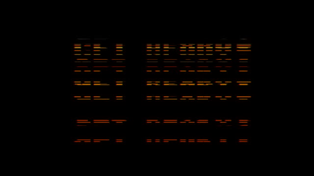 retro videogame get ready text on old tv glitch interference screen ... New quality universal vintage motion dynamic animated background colorful joyful cool video footage video