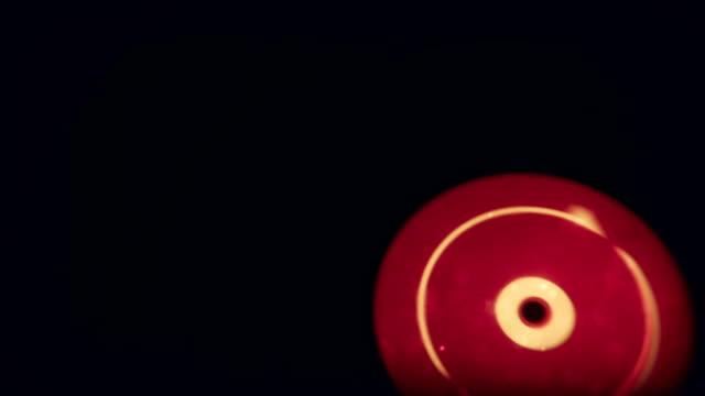 Retro Vinyl Record Spin video