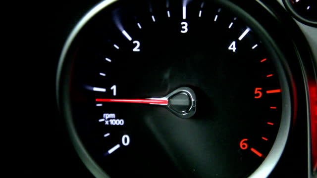 rev counter vj, video jockey, dj, power close up of an instrument in a car cockpit sports car stock videos & royalty-free footage