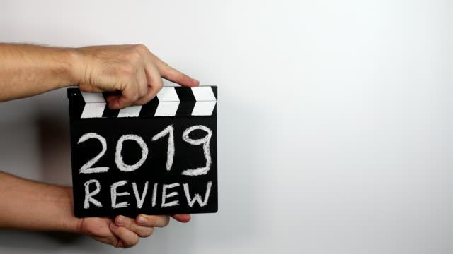 2019 review. Goals, survey and achievements concepts