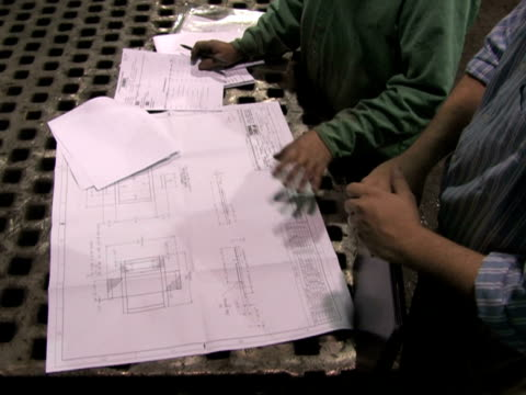 Reviewing Blueprints in Factory 3 video