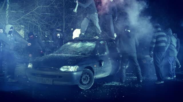 revolution - skada bildbanksvideor och videomaterial från bakom kulisserna