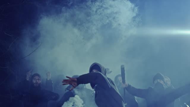 revolution - ribellione video stock e b–roll