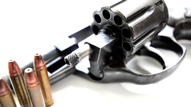 Revolvers with Ammunition video
