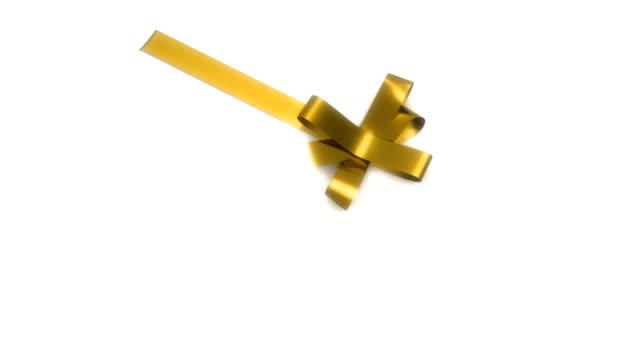 ribbon tying - ribbon stok videoları ve detay görüntü çekimi