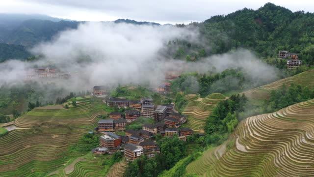 reisaddy in longsheng - longji tetian stock-videos und b-roll-filmmaterial